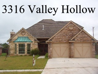 For rent 3316 valley hollow norman ok for Norman ok home builders